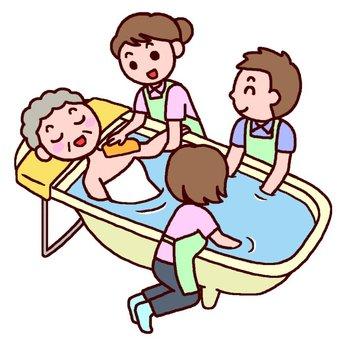 1日6時間程度 週1日からOK訪問入浴看護師